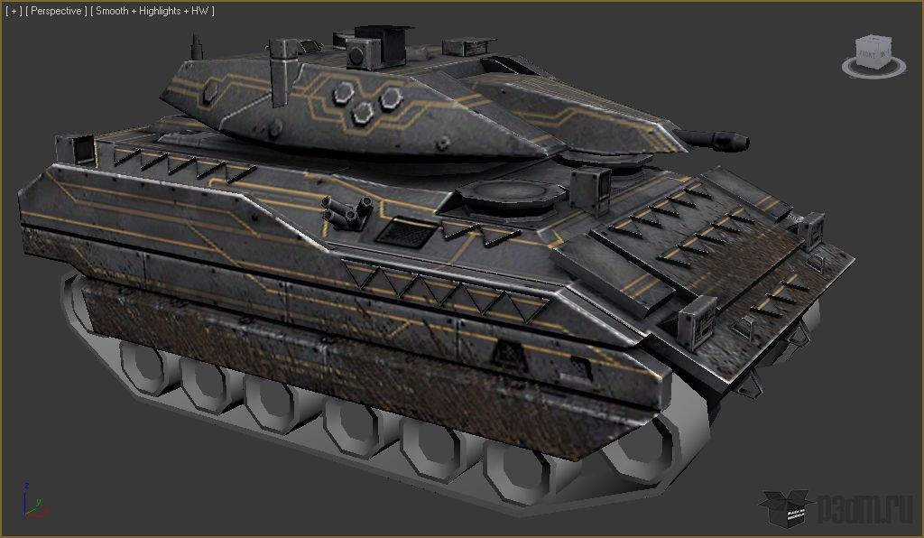 3D Модели Танк