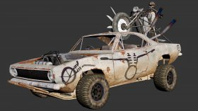 MadMAX The Demented Chariot