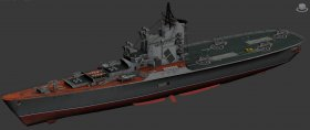 MOSKVA ASW cruisers