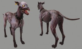 Zombie Security Dog