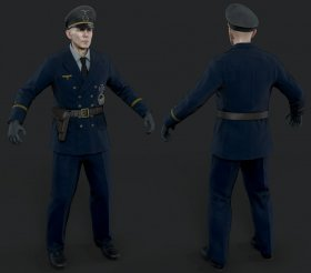 Kriegsmarine Officer