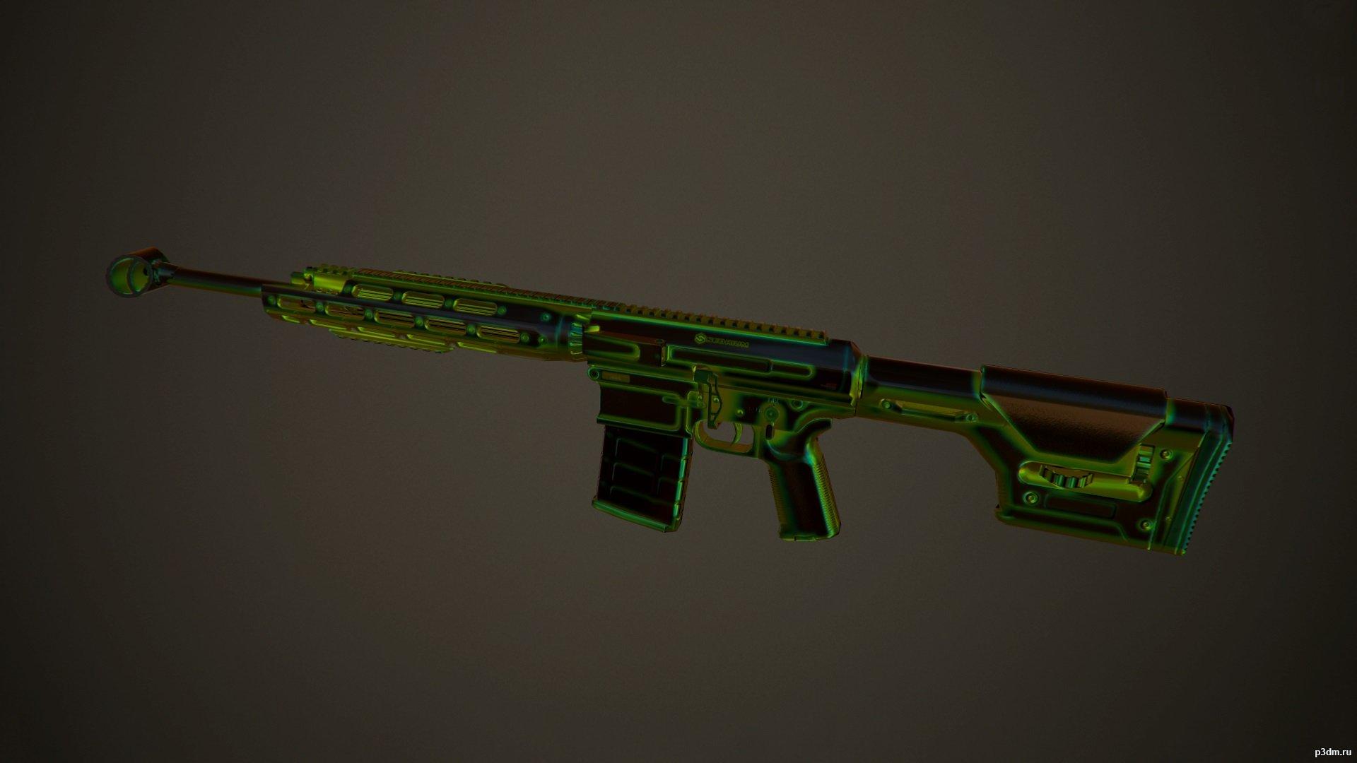 Remington R11 RSASS Радиация » Pack 3D models