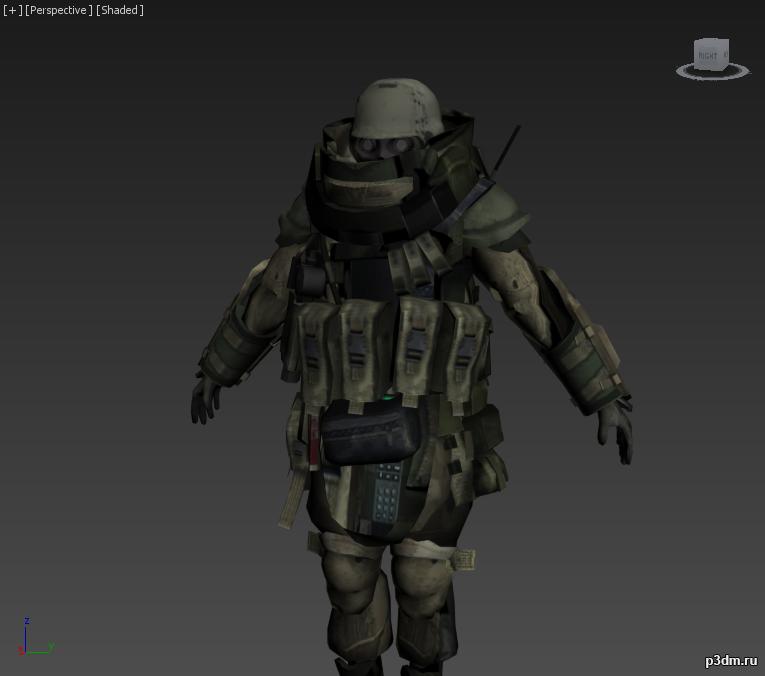 Juggernaut (Modern Warfare 2) » Pack 3D models