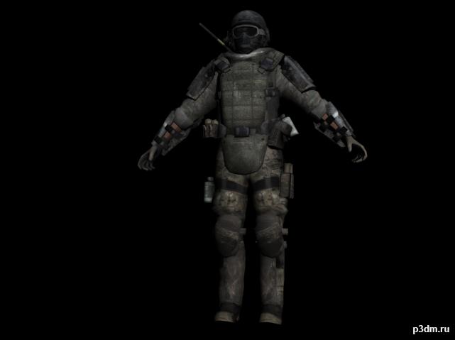 Juggernaut (Modern Warfare 3) » Pack 3D models