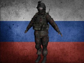 Russian Airborne soldier