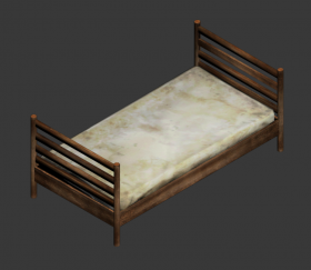 Suburban Singlebed (dirty)