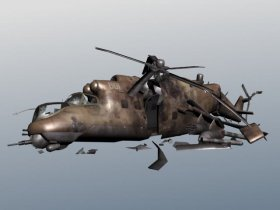 Mi-24 Hind Crashed