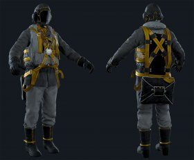 Airborne Division (Male) Golden Sun