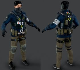 Tom Clancys Rainbow Six Siege » Pack 3D models
