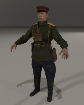 Soviet Infantry Officer 1943