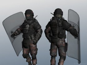 Spetsnaz Riot + Shield