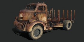 1941 Chevrolet COE (Dune Vessel Carrier)