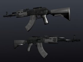 AK-47 Tactical + Modules