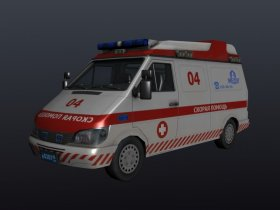 Russian Ambulance car