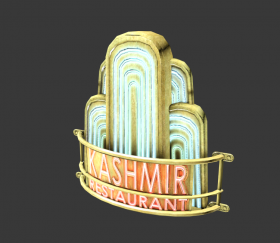 Advertising: Kashmir Restaurant