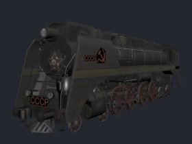 Soviet steam engine