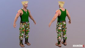 Frank West Guile Costume