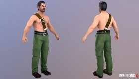 Frank West Mike Haggar Costume
