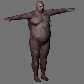 Zombi Fatguy (Unused Content)