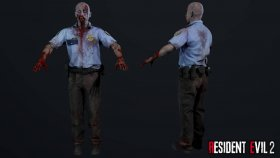 Zombie Police Officer 1