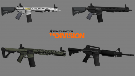 Tom Clancys The Division » Pack 3D models