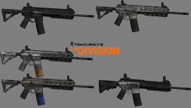 The Division P416 (HK416) pack