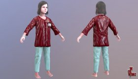 Lily Castellanos Medical Robe
