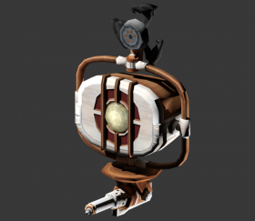 Pneumo Security Bot Turret
