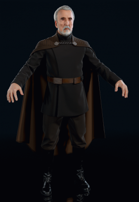 Star Wars Battlefront II (2017) - Count Dooku