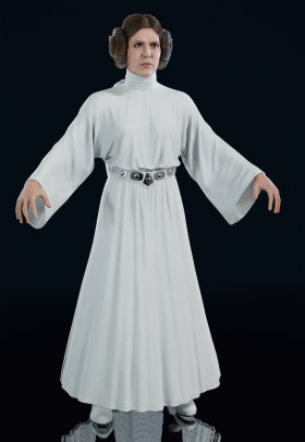 Star Wars Battlefront II - Princess Leia