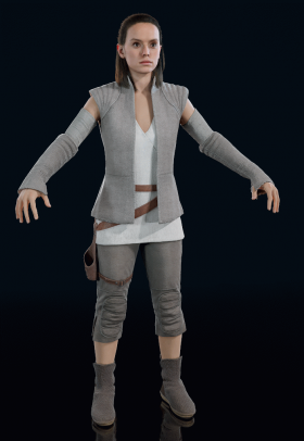 Star Wars Battlefront II - Rey (Ahch-To)