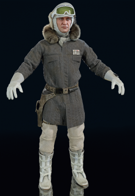 Star Wars Battlefront II - Han Solo (Hoth)