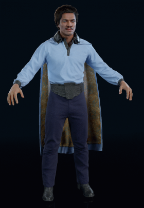 Star Wars Battlefront II - Lando Calrissian