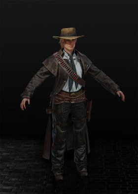 Red Dead Redemption 2 - Sadie Adler Var. 4
