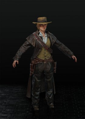 Red Dead Redemption 2 - Sadie Adler Var. 5