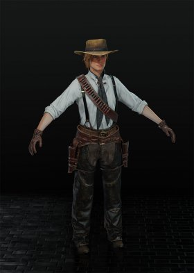 Red Dead Redemption 2 - Sadie Adler Var. 7