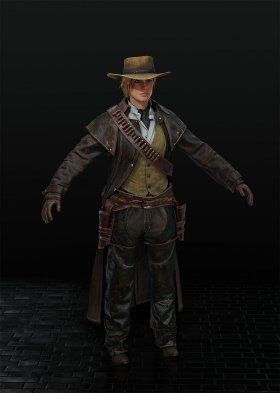 Red Dead Redemption 2 - Sadie Adler Var. 9