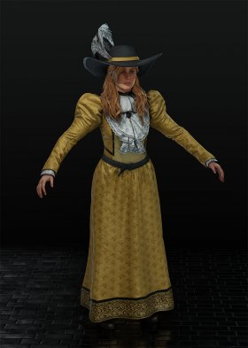 Red Dead Redemption 2 - Sadie Adler Var. 10