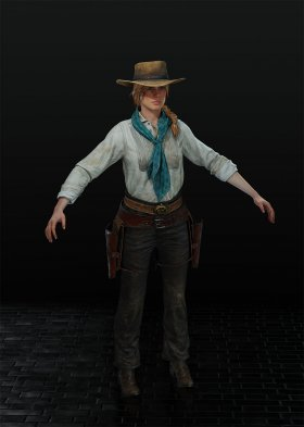 Red Dead Redemption 2 - Sadie Adler Var. 14