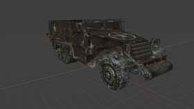 M3 Halftrack Snow
