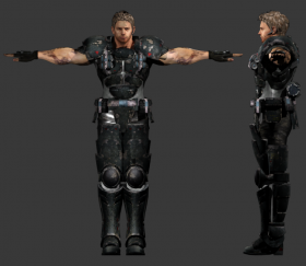 Chrid Redfield (Heavy Metal)