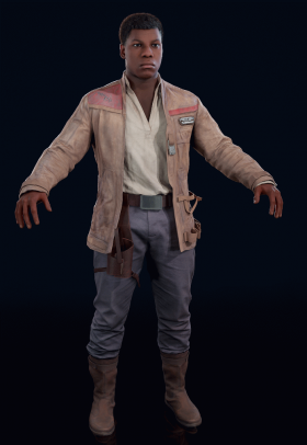 Star Wars Battlefront II - Finn