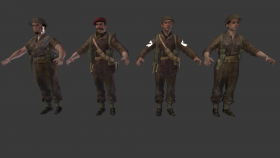 Characters models pack