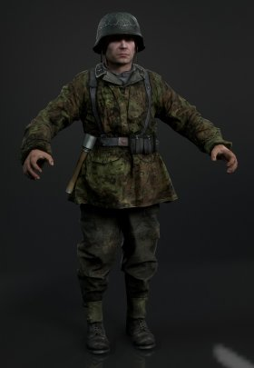 Call of Duty 5 Pre-alpha - German Soldier