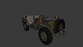 Jeep Willys Airborne