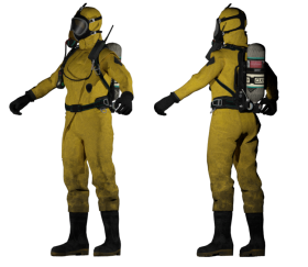 Hazmat Suit (Male & Female)