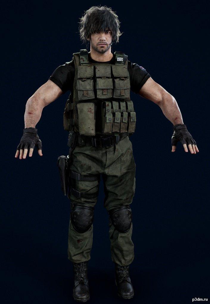 Carlos Pack 3d Models