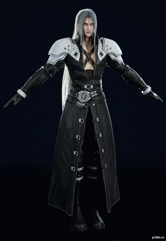 Final Fantasy Vii Remake Sephiroth Pack 3d Models
