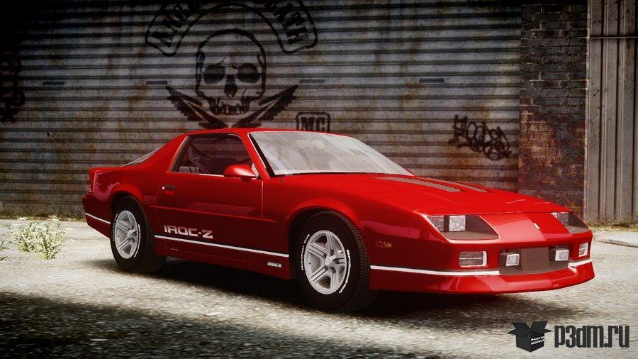 Chevrolet 1990 Camaro IROC-Z » Pack 3D models