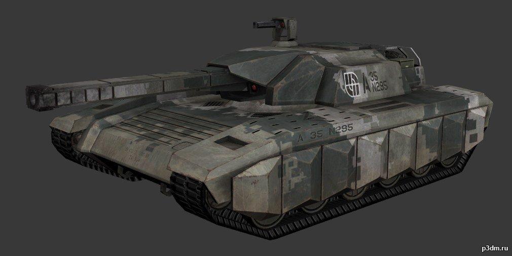 A-8 Tiger » Pack 3D models